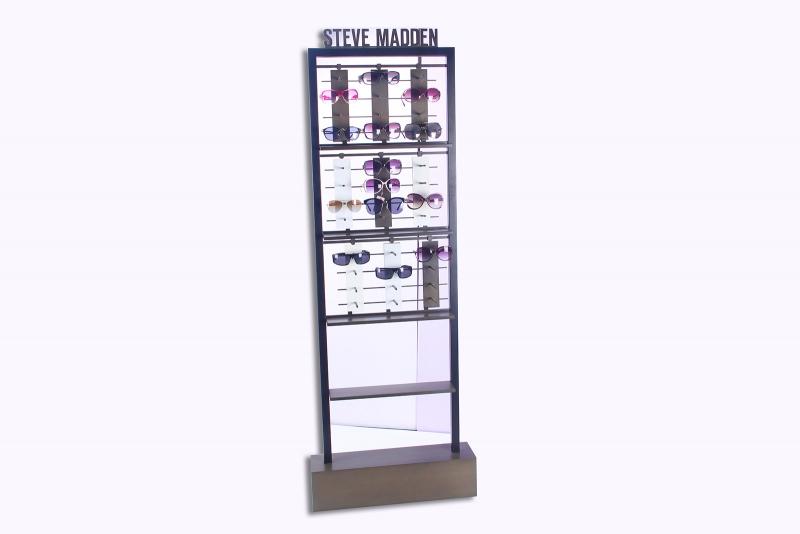透明眼镜展架