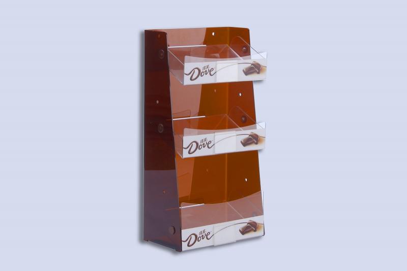 德芙巧克力展示架